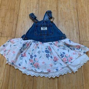 Girls infant jumper dress